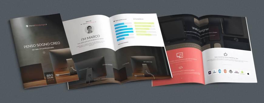 La brochure Marco Michelangeli scaricabile da questo sito web