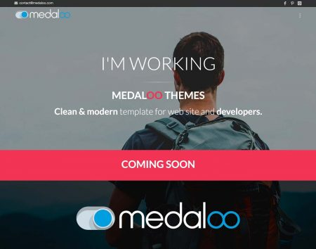 Sito web Medaloo.com themes & template