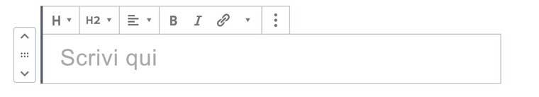 Wordpress 5 Gutenberg scrivi titolo pagina